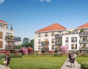 Achat / Vente programme immobilier neuf Jouy-le-Moutier quartier Eguerets-Bruzacques (95280) - Réf. 2103