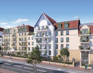 Achat / Vente programme immobilier neuf Le Blanc-Mesnil proche commodités et écoles (93150) - Réf. 4001