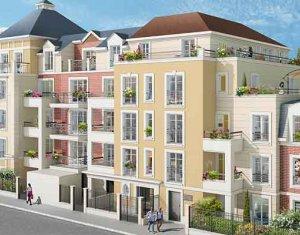 Achat / Vente programme immobilier neuf Le Blanc-Mesnil proche quartier de la gare (93150) - Réf. 2518