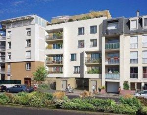 Achat / Vente programme immobilier neuf Le Bourget Grand Paris proximité futures lignes métros 16 & 17 (93350) - Réf. 607