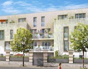 Achat / Vente programme immobilier neuf Les Pavillons-sous-Bois à 700 mètres du transilien (93320) - Réf. 3882