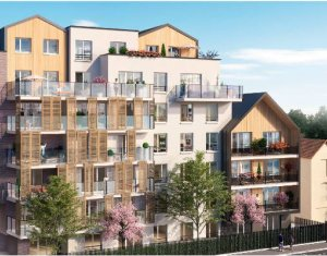 Achat / Vente programme immobilier neuf Livry-Gargan proche tramway (93190) - Réf. 3217