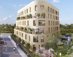 Achat / Vente programme immobilier neuf Mantes-la-Jolie proche gare Mantes Station (78200) - Réf. 2419