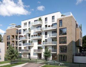 Achat / Vente programme immobilier neuf Noisy-le-Sec à 6 minutes du RER E (93130) - Réf. 3720