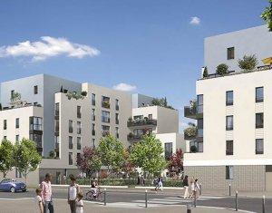 Achat / Vente programme immobilier neuf Poissy dans la nouvelle Zac de la Coudraie (78300) - Réf. 1853