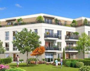 Achat / Vente programme immobilier neuf Pontault-Combault en face du parc des Jardins d'Aimé (77340) - Réf. 2542