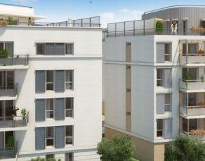Achat / Vente programme immobilier neuf Rosny-sous-bois 600 m du RER cœur de la vieille ville (93110) - Réf. 429