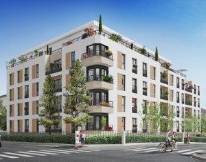 Achat / Vente programme immobilier neuf Rosny-sous-Bois proche hôtel de ville (93110) - Réf. 3428