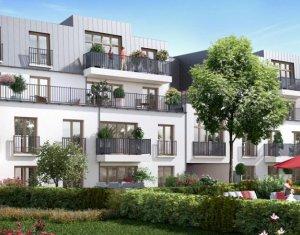 Achat / Vente programme immobilier neuf Rosny-sous-bois proche RER et commerces (93110) - Réf. 1495