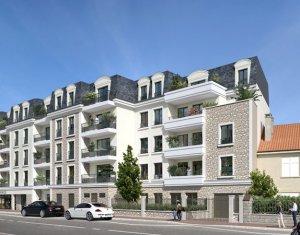 Achat / Vente programme immobilier neuf Saint-Cyr-l'Ecole proche commerces (78210) - Réf. 2550
