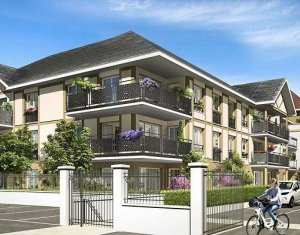 Achat / Vente programme immobilier neuf Saint-Germain-lès-Arpajon quartier pavillonnaire proche Brétigny (91180) - Réf. 2059