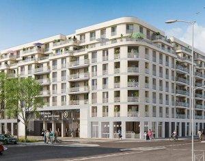 Achat / Vente programme immobilier neuf Saint-Ouen à deux pas du métro (93400) - Réf. 6145