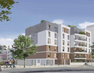 Achat / Vente programme immobilier neuf Stains proche parc de Courneuve (93240) - Réf. 5852