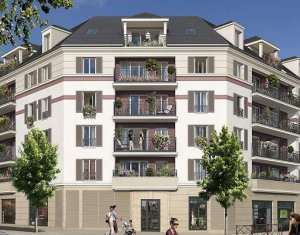 Achat / Vente programme immobilier neuf Taverny 10 minutes RER C (95150) - Réf. 1287