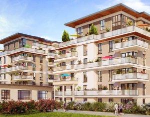 Achat / Vente programme immobilier neuf Vélizy-Villacoublay proche forêt de Meudon (78140) - Réf. 2240