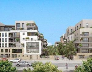 Achat / Vente programme immobilier neuf Villejuif écoquartier proche avenue de la République (94800) - Réf. 1919