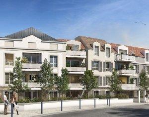 Achat / Vente programme immobilier neuf Villemomble à 1,5 km de la gare RER E (93250) - Réf. 5930