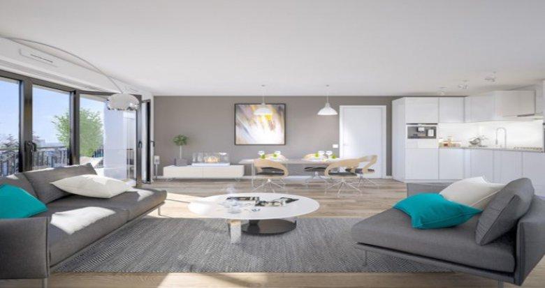 Achat / Vente programme immobilier neuf Alfortville à 12 min à pied du RER D (94140) - Réf. 5599