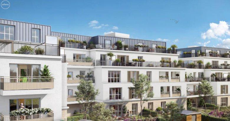 Achat / Vente programme immobilier neuf Argenteuil à deux pas du centre-ville (95100) - Réf. 6030