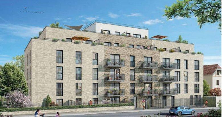 Achat / Vente programme immobilier neuf Argenteuil à quelques pas du centre-ville (95100) - Réf. 4257