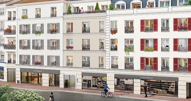 Achat / Vente programme immobilier neuf Argenteuil cœur de ville (95100) - Réf. 5841