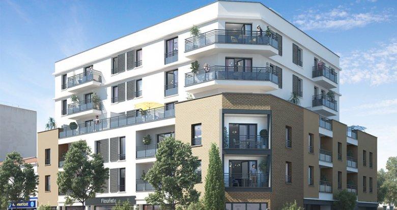Achat / Vente programme immobilier neuf Athis-Mons proche place du marché des Gravilliers (91200) - Réf. 2415