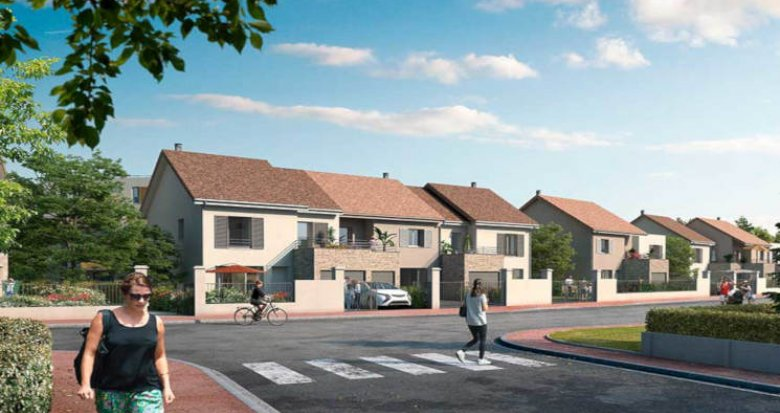 Achat / Vente programme immobilier neuf Aubergenville proche gare (78410) - Réf. 2973