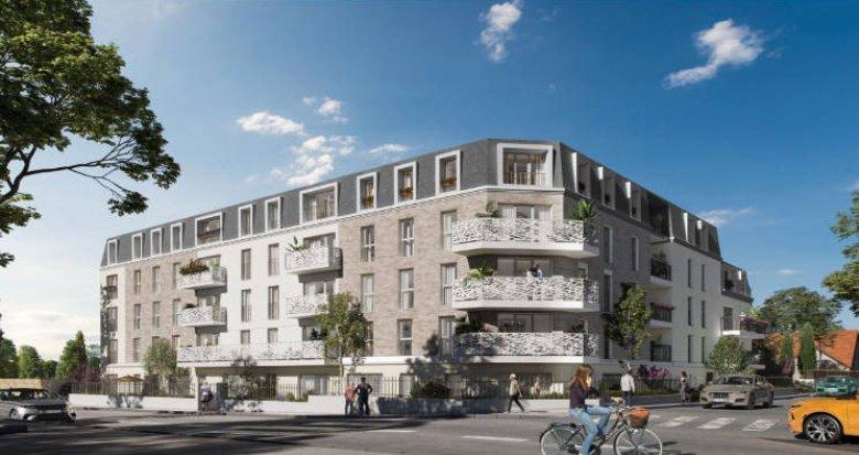 Achat / Vente programme immobilier neuf Aulnay-sous-Bois à proximité du centre (93600) - Réf. 5722