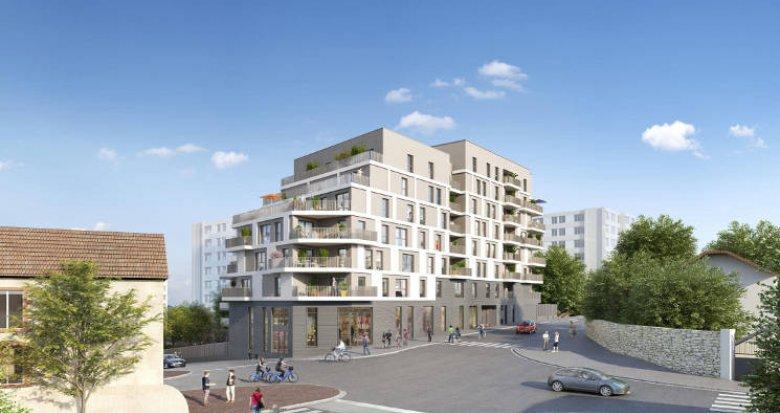 Achat / Vente programme immobilier neuf Bagnolet proche de la ligne 3 du métro (93170) - Réf. 5479