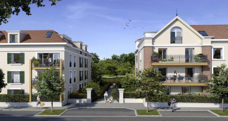 Achat / Vente programme immobilier neuf Ballainvilliers à deux pas du Château (91160) - Réf. 5446