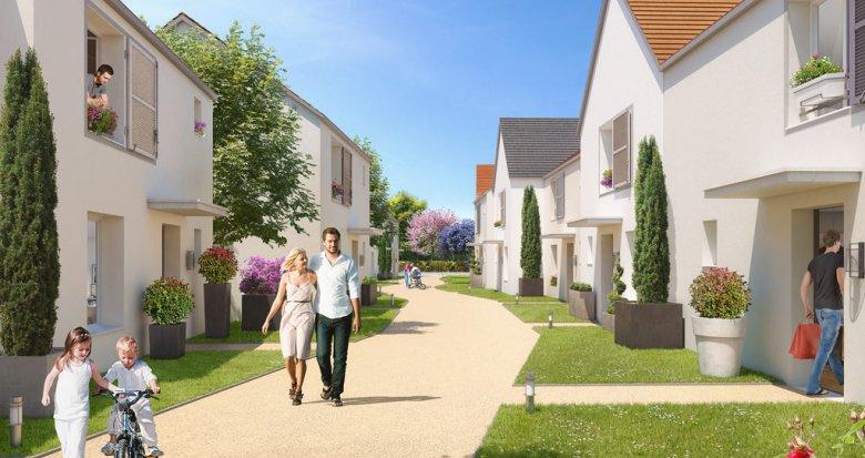 Achat / Vente programme immobilier neuf Ballainvilliers nouveau parc (91160) - Réf. 1147