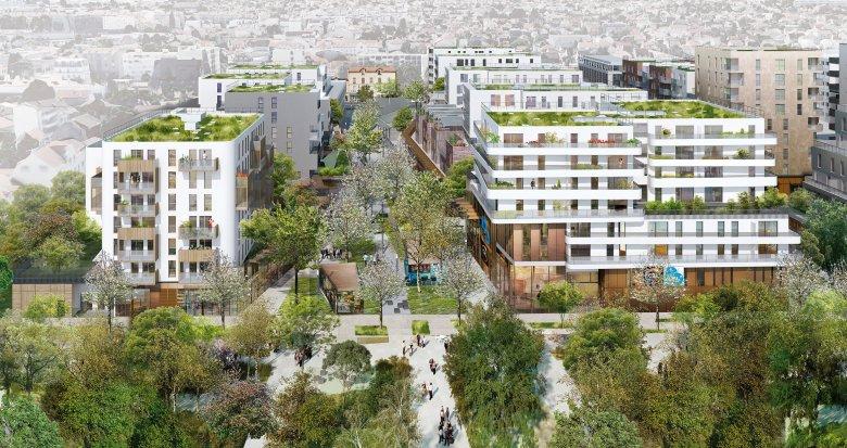 Achat / Vente programme immobilier neuf Bezons proche parc Albert Bettencourt (95870) - Réf. 1932