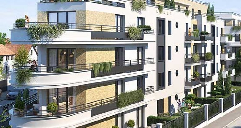 Achat / Vente programme immobilier neuf Bezons proche tramway T2 (95870) - Réf. 6151