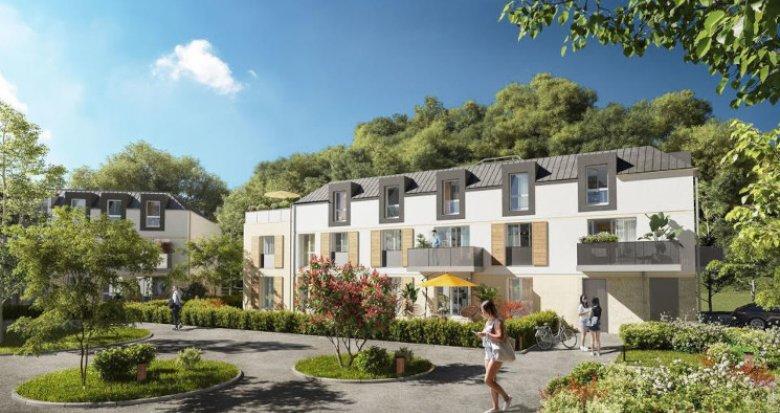 Achat / Vente programme immobilier neuf Bièvres en lisière du bois du Loup Pendu (91570) - Réf. 5465