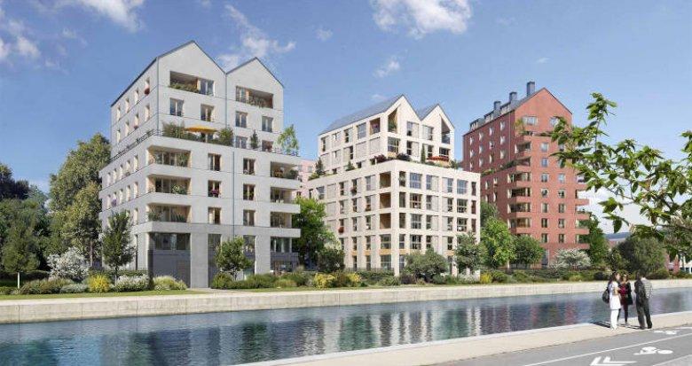 Achat / Vente programme immobilier neuf Bobigny sur les rives du canal de l'Ourcq (93000) - Réf. 6009