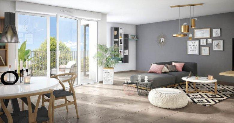 Achat / Vente programme immobilier neuf Bondoufle au coeur de la place centrale (91070) - Réf. 4076