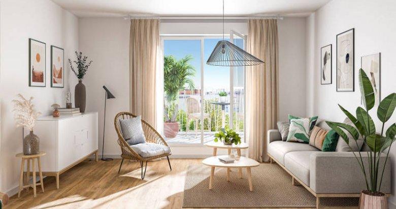 Achat / Vente programme immobilier neuf Bondy au cœur de ville TVA réduite (93140) - Réf. 5618