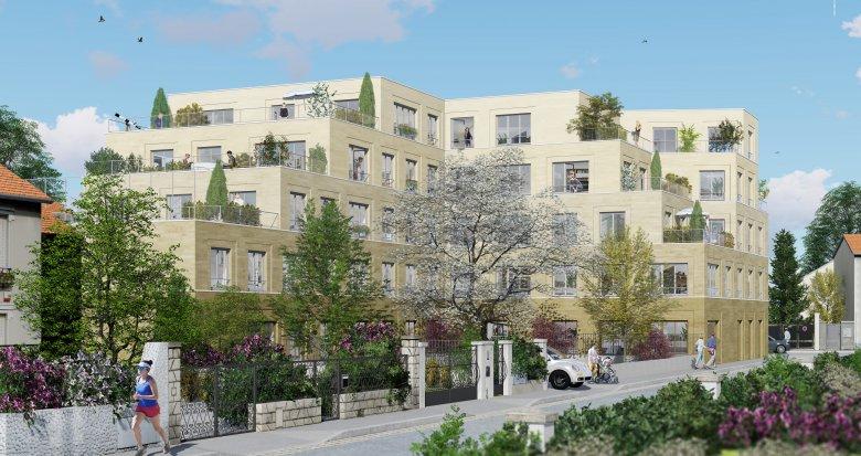 Achat / Vente programme immobilier neuf Bondy proche futur métro ligne 15 (93140) - Réf. 3517