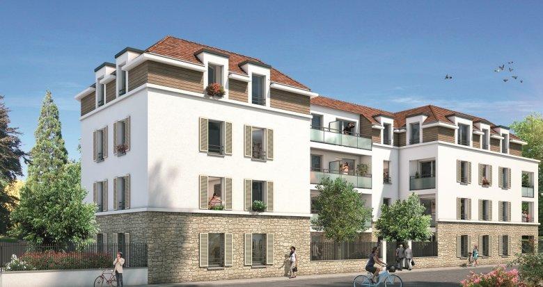 Achat / Vente programme immobilier neuf Brie-Comte-Robert proche RER D et A (77170) - Réf. 240