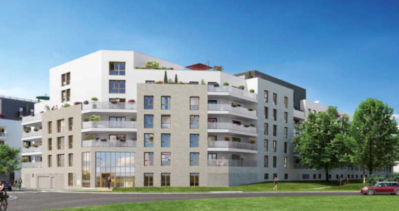 Achat / Vente programme immobilier neuf Bussy-Saint-Georges proche RER A (77600) - Réf. 5312