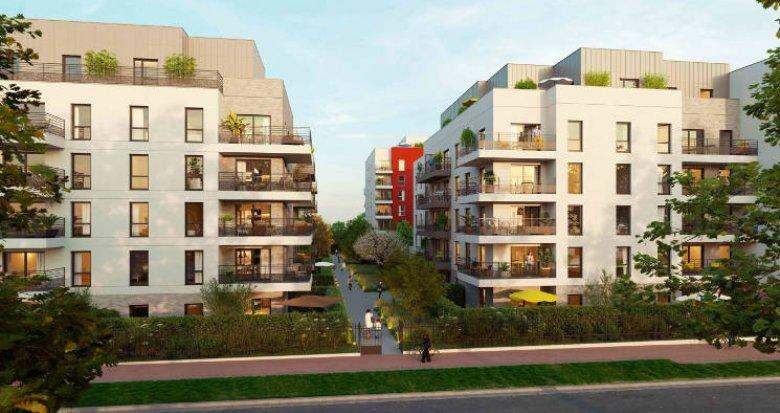 Achat / Vente programme immobilier neuf Cergy à 3 min du RER A (95000) - Réf. 5491