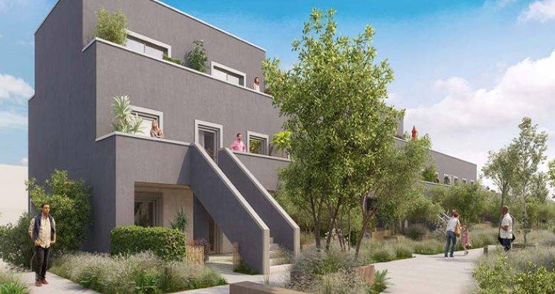 Achat / Vente programme immobilier neuf Cergy au cœur du quartier des Deux Epis (95000) - Réf. 3020