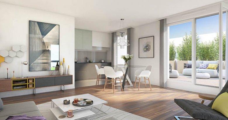 Achat / Vente programme immobilier neuf Cergy éco quartier Boulevard de l'Oise (95000) - Réf. 149