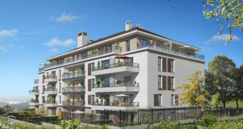 Achat / Vente programme immobilier neuf Cergy proche commodités et base de loisirs (95000) - Réf. 4758