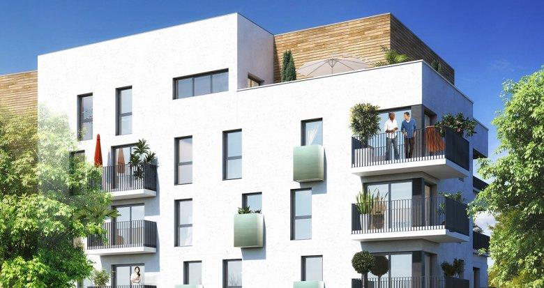 Achat / Vente programme immobilier neuf Cergy proche des universités (95000) - Réf. 510