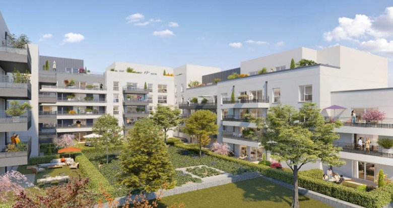 Achat / Vente programme immobilier neuf Cergy proche gare RER A (95000) - Réf. 5901