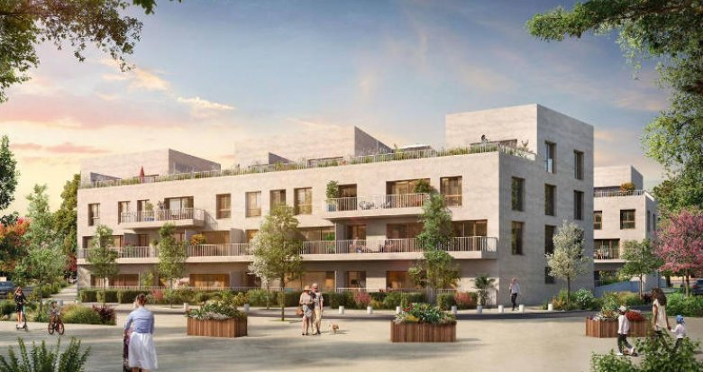 Achat / Vente programme immobilier neuf Cergy proche RER A (95000) - Réf. 4840