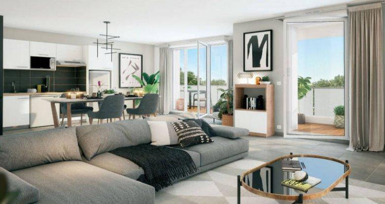 Achat / Vente programme immobilier neuf Cesson à 700m du RER D (77240) - Réf. 5216
