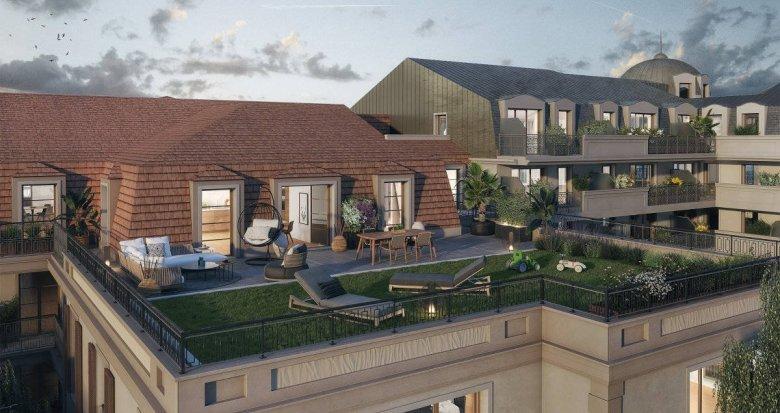Achat / Vente programme immobilier neuf Champigny-sur-Marne à 8 min à pied du RER A (94500) - Réf. 6186