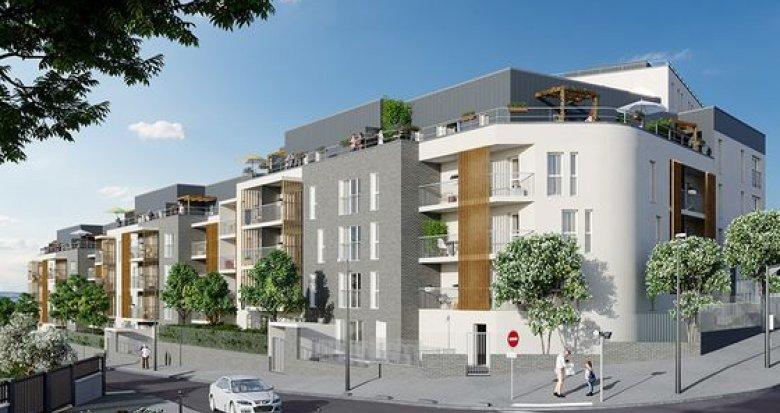 Achat / Vente programme immobilier neuf Champigny-sur-Marne aux portes de Paris (94500) - Réf. 2448